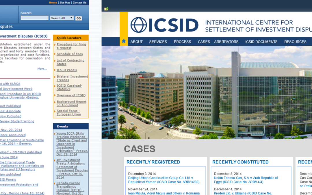 ICSID Redesign