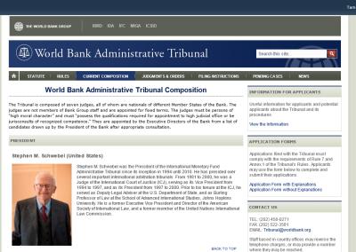 WB Administrative Tribunal