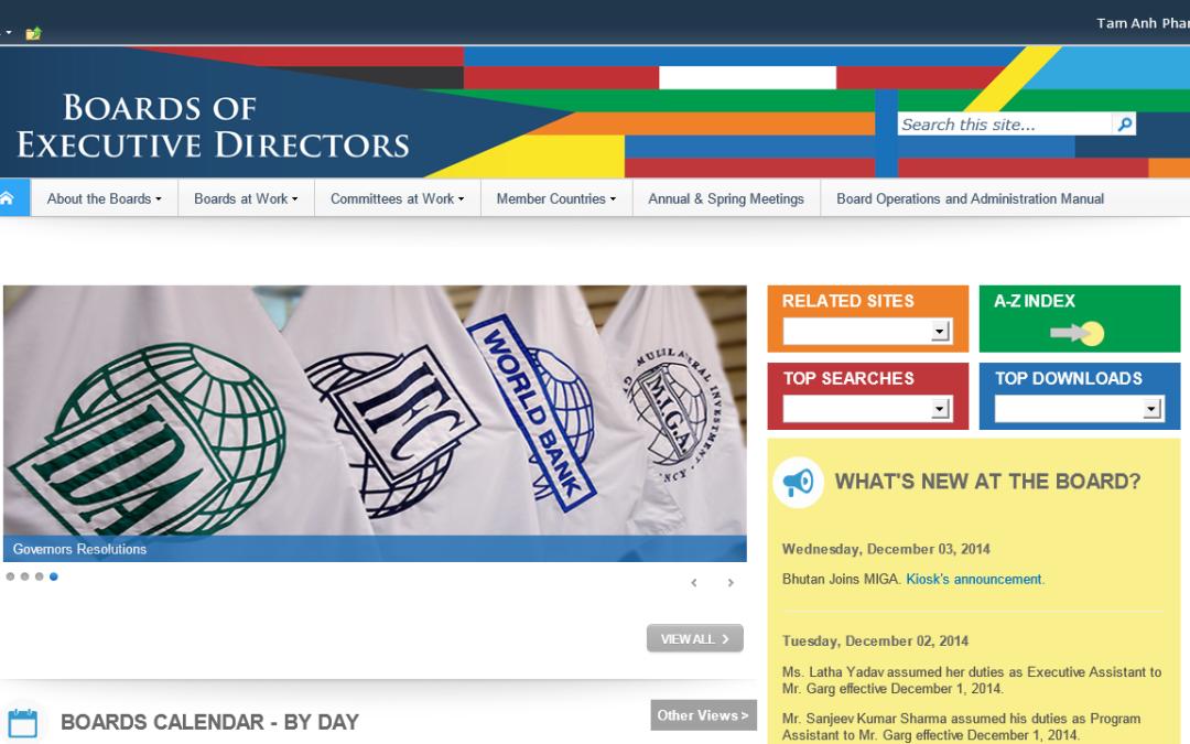 WB Boards Portal