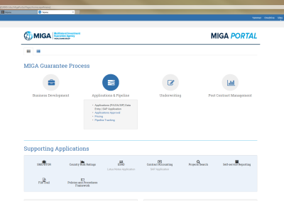 MIGA Portal